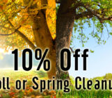 10% Off Fall or Spring Cleanup